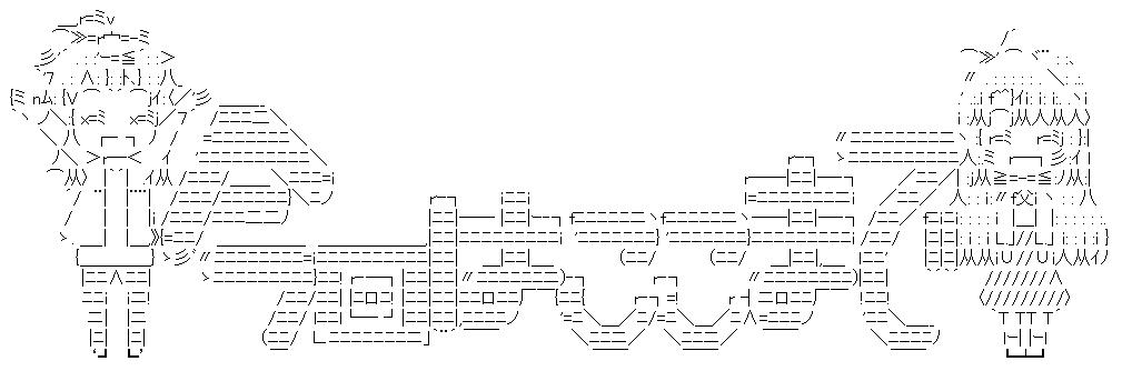 越谷夏海&越谷小鞠(ED)(のんのんびより)-AA-1
